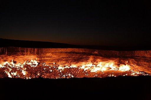 Pintu 'neraka' di Uzbekistan/Foto: Google Images