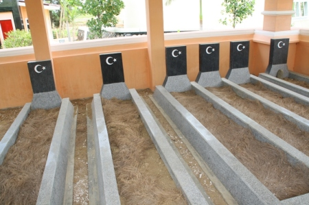 Inilah makam anak-anak dan istri dari Tengku Dibitay yang dipugar