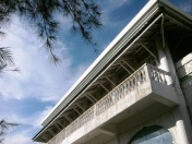 Arsitektur lama masih begitu terjaga di Mesjid Baiturrahim (Dok. Pribadi)