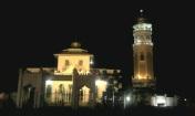 Mesjid Baiturrahim pada malam hari (Dok. Pribadi)