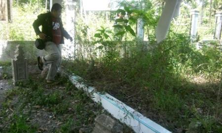 Makam Banta Ahmad di Samuti Krueng