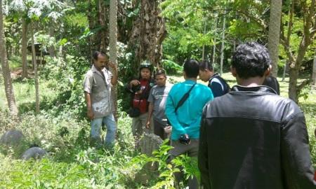 Temuan nisan di Gampong Raya