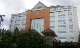 Kantor Wali Kota Jakarta Pusat yang hadir dan membuat area MTP jadi lebih sempit