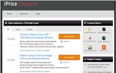 iPrice Coupon Indonesia