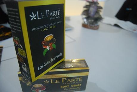 Kopi Le Parte juga menjadi pilihan para wirausahawan muda Aceh (Foto IST)