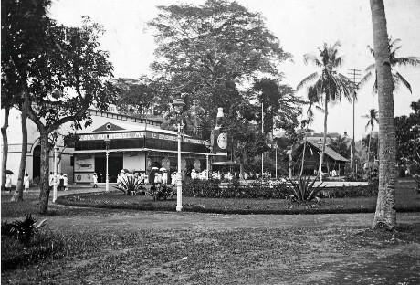 Suasana De Koloniale Tentoonsteling di Semarang (IST)