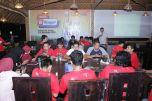 Masih dalam adegan hari pertama, pada malam hari Kadisbudpar Aceh hadir ditengah keseriusan peserta Aceh Blogger Gathering