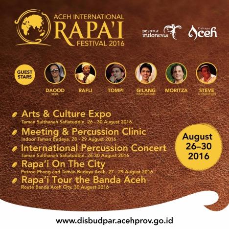 Dukung Wisata Halal, Aceh Gelar Festival Rapa'i International