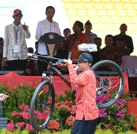 Penas Petani Nelayan XV 2017 Pembukaan oleh Presiden Jokowi_Kantor Staf Presiden